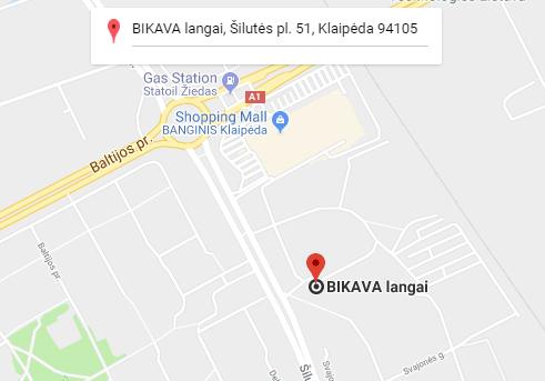 Bikava zemelapis, Silutes pl. 51, Klaipeda